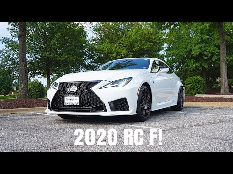 2020 Lexus RC F - Brutal V8 Force