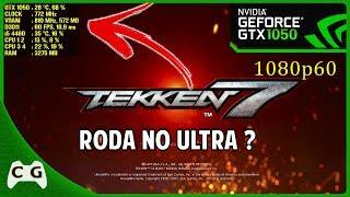 TEKKEN 7 Gameplay Teste GTX 1050 + i5 4460 Roda No Ultra em 1080p60 ? #20