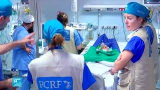 وفد طبي فرنسي متخصص في جراحة القلب للأطفال يجري عمليات في غزة