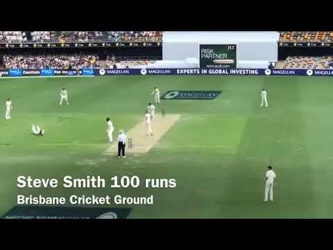Steve smith 💯 runs Ashes 2017