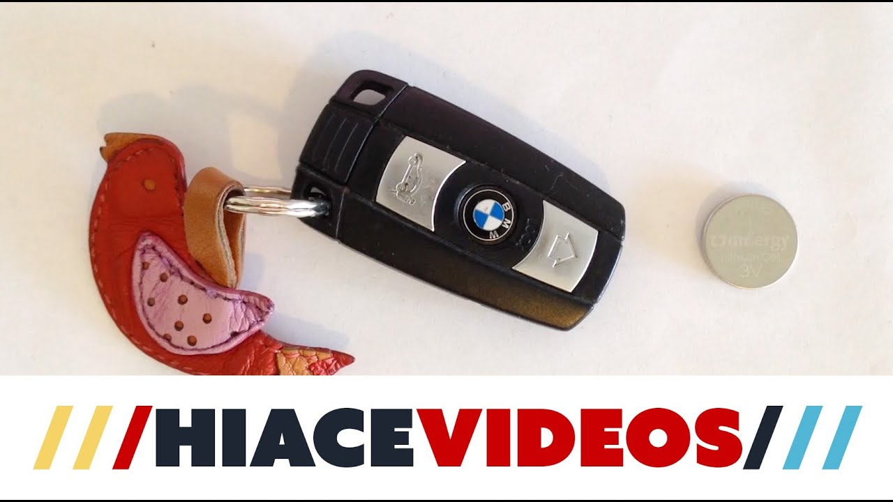 bmw e90 key fob battery replacement diy youtube. Black Bedroom Furniture Sets. Home Design Ideas