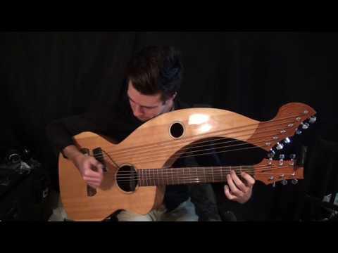 Hotel California (Eagles) - Harp Guitar Cover (arr. T. Bowman/Tomi Paldanius) - Jamie Dupuis