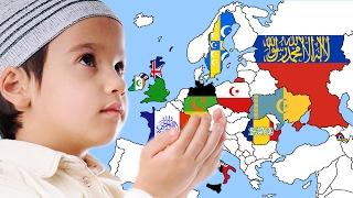 هل تعلم أن أوروبا إن استمرت على هذا الحال ستصبح قارة إسلامية بدون حرب أو حمل سلاح... الله أكبر