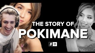 xQc Reacts to The Story of Pokimane by theScore esports