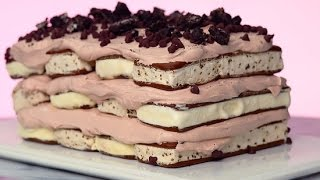 No Bake Ice Cream Sandwich Cake Recipe | Just Add Sugar