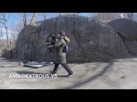 NYC Bouldering (Upper Manhattan)
