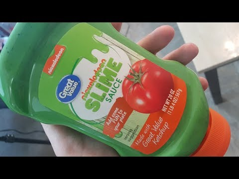 Indy Webmaster Blog - Nickelodeon Slime Sauce Available At Wal-Mart