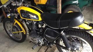 Ducati Scrambler 1970's  250cc