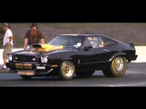 Mustang Ii Cobra 14 Mile Race Youtube