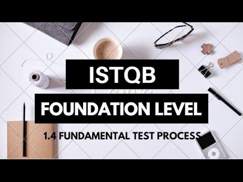 ISTQB-FL | 1.4 Fundamental Test Process