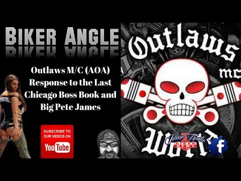 The Outlaws Motorcycle Clubs Response to Big Pete and his book last chicago boss.