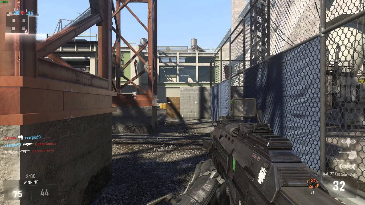 Call of duty advanced warfare multiplayer gameplay