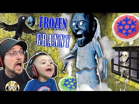 granny-gets-frozen!-oh-snap!-freeze-trap!-fgteev-feeds-crow-granny's-head