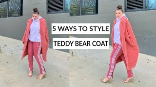 5 WAYS TO STYLE A TEDDY COAT | THE RULE OF 5 | JULIA MARIE B