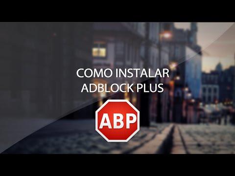 Como instalar AdBlock Plus | Extensão