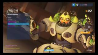 ORISA FINALLY CAME OUT!!!!!!!!!!!! OVERWATCH!!!!!!!!!!