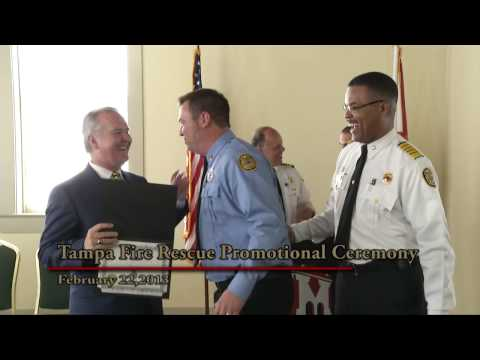 2013 Tampa Fire Rescue Promotional Ceremony