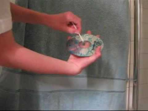 The Fastest Way to Clean Scratches/Fingerprints on any Disc
