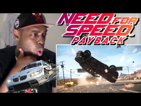 Need for Speed Payback Official Reveal Trailer REACTION!!!