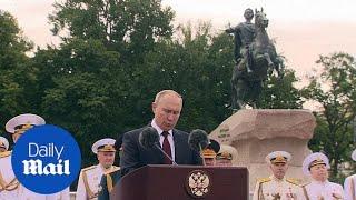 Vladimir Putin says Russia can hit enemies with 'unpreventable strike'