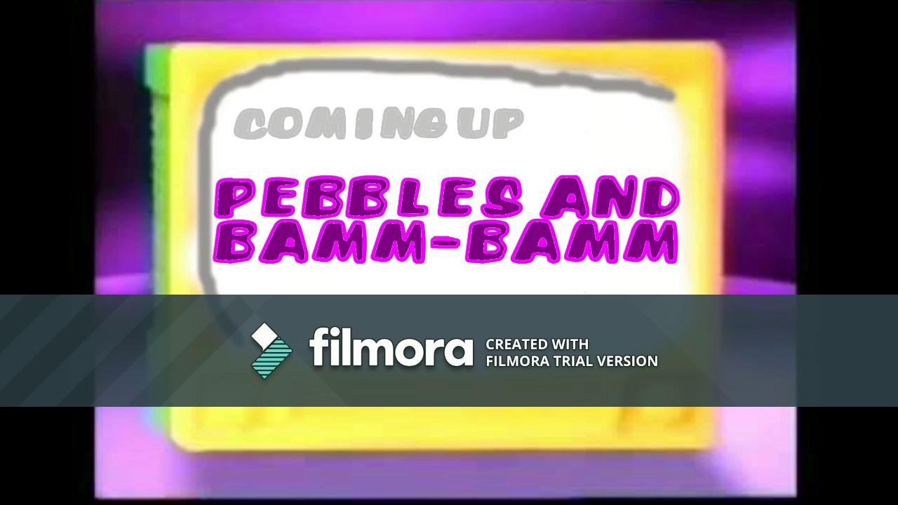 """(FAN-MADE) Boomerang: Pebbles & Bamm-Bamm """"Coming Up Next"""