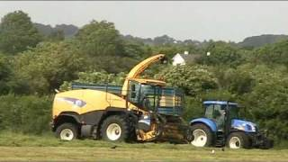 Spoutcam on New Holland FR Intellifill ??- John Kennedy Part 2 T6040 Elite - johnwandersonagain