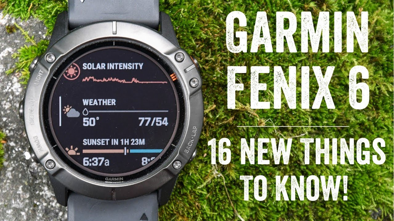 Garmin Fenix 6 Review 16 New Things To Know Base Pro Solar
