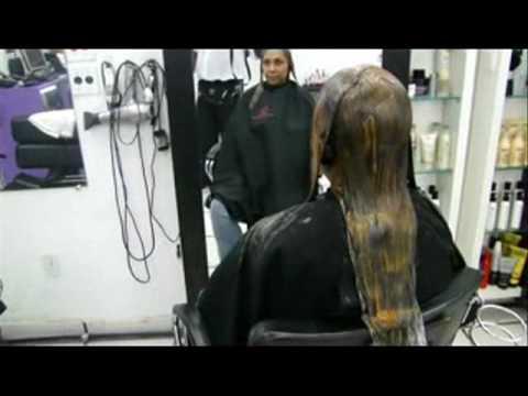 Alisado de pelo wellastrate
