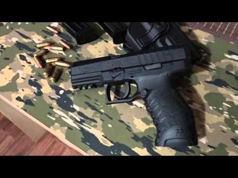 Tabletop Review of the Walther PPX (9mm Luger)