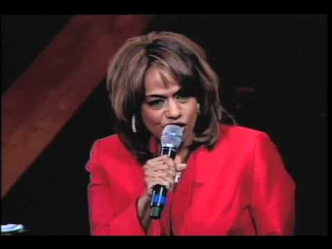 "Jennifer Holliday performing ""His Eye is on the Sparrow"" at Trinity United Church of Christ"