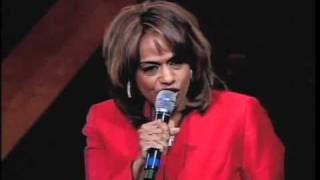 """Jennifer Holliday performing """"His Eye is on the Sparrow"""" at Trinity United Church of Christ"""