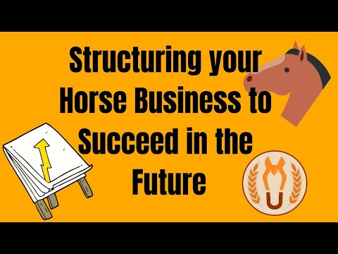 Structuring Your Horse Business to Succeed in the Future
