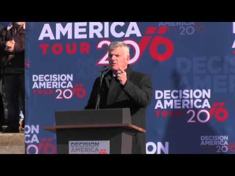 Franklin Graham Decision America Des Moines, IA (1/5/16)