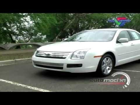 TEST DRIVE FORD FUSION 2008 AUTOMOCION TV