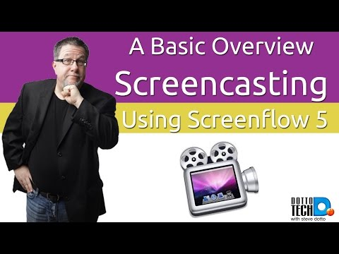How to Create a Screencast - The Basics