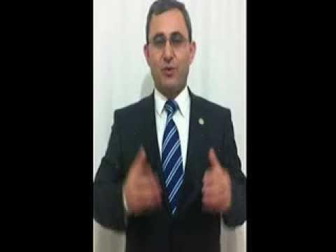 Prof.Dr.Alim IŞIK Bey'in Domaniç Halkına Seslenişi