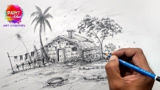 landscape simple draw easy beginners staedtler favourites