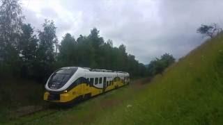 Najpiękniejsza linia kolejowa w Polsce.