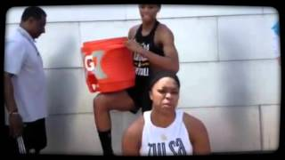 Tulsa Shock Team #Chillin4Charity Take 2
