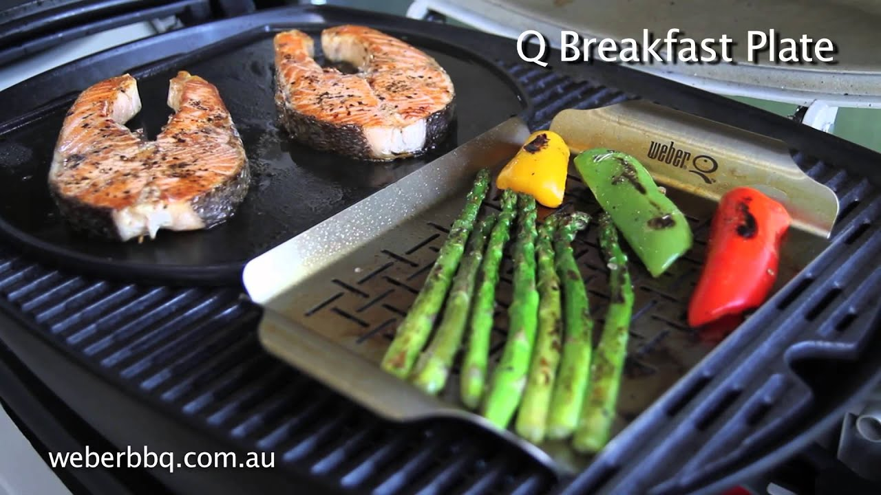 using a hotplate on your weber q