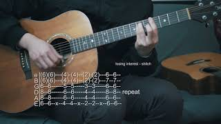 How to Play Losing Interest - Shiloh - Guitar Tabs