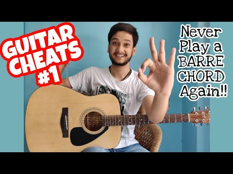 Play All Barre Chords With This HACK!! Like A PRO!! Everyone can!! |How to Play Barre Chords Easily