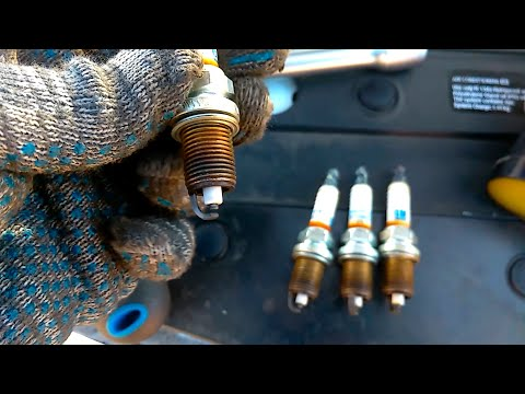 Дергается при разгоне. Замена свечей зажигания Chevrolet Cruze 1.8