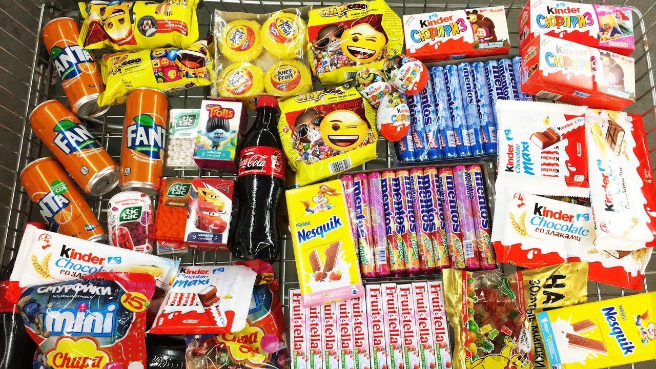 A Lot Of Candy 2018 NEW #45 Киндер Сюрпризы Маша и Медведь Черепашки Ниндзя, Очень много конфет!