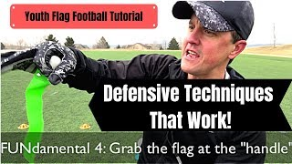 Youth Flag Football Tutorial | Defense techniques That Work | Fundamentals | Strategy | Formations