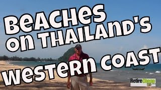 Beaches on the Western Gulf of Thailand