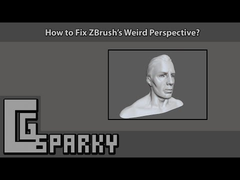 How to Fix ZBrush's Weird Perspective