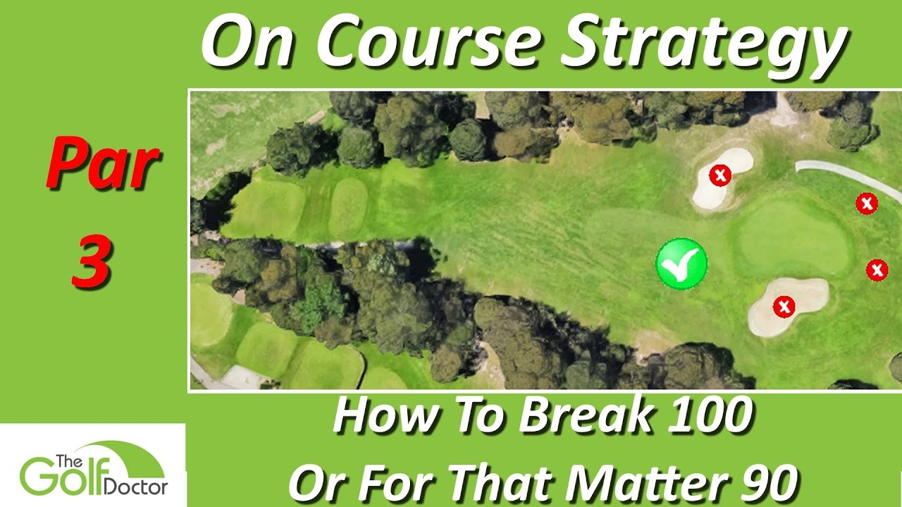 best par 3 on course golf strategy how to break 100 or 90 for that matter youtube. Black Bedroom Furniture Sets. Home Design Ideas