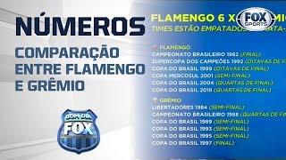 NINGUÉM É FREGUÊS! Veja comparação dos números de Flamengo e Grêmio