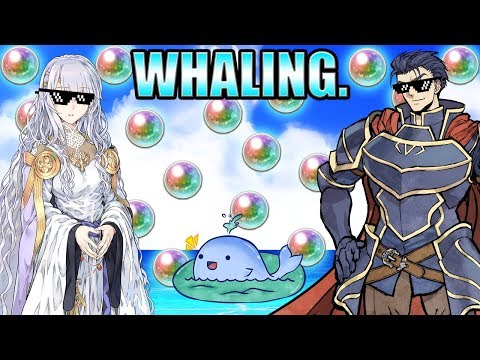 Fire Emblem Heroes: WHALING.